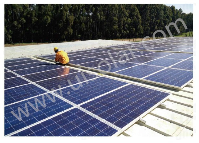 solar roof mount factory